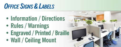 Office Signs & Labels