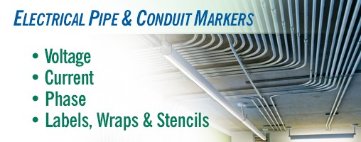 Electrical Pipe & Conduit Markers